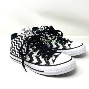 Converse Ctas Madison Mid Canvas White Black W